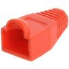 Datacom 10-es csomag, műanyag, piros, adatkommunikációs, RJ45