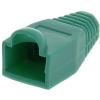 Datacom 10-es csomag, műanyag, zöld, adatkommunikációs, RJ45