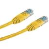 Datacom Adatátviteli, CAT6, UTP, 1m, sárga