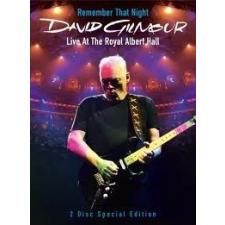 DAVID GILMOUR - Remember That Night At Royal Albert Hall DVD zene és musical