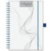 DAYLINER InSpiral, A5 heti beosztású agenda, Fehér-Kék