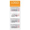 DAYLINER Szuper Maxi Classic, 4 tömbös 4 hónapos speditőr naptár - Üres, nyomtatható fejrésszel