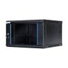 DBX START.LAN fali szekrény 19 6U 600x450mm fekete