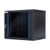 DBX START.LAN fali szekrény 19 9U 600x450mm fekete