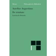 De trinitate – Aurelius Augustinus idegen nyelvű könyv