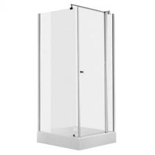 Deante CUBIC szögletes nyílóajtós zuhanykabin kád, zuhanykabin