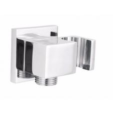 Deante 'Deante Cascada szögletes zuhanycső szög csatlakozó, oldalsó kézizuhany tartóval' kád, zuhanykabin