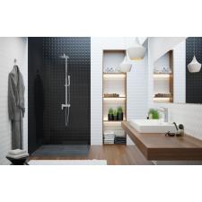 Deante HIACYNT zuhanyfej csapteleppel 110x37 cm króm profil csaptelep