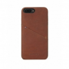 Decoded Leather Back iPhone 6/6s/7 Plus bőrtok - Barna