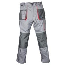 DEDRA BH3SP-XXL védőnadrág xxl/58 méretben, szürke, comfort line, 190g/m2 grammatúra barkácsolás, csiszolás, rögzítés