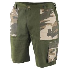DEDRA BH43ST-LD terepszínű rövidnadrág, ld méret. pamut+elasztán, 200g/m2 munkaruha