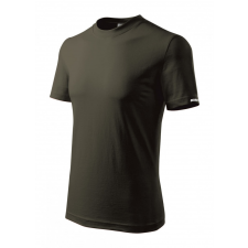 DEDRA BH5TA-XXL férfi rövid ujjú póló xxl, army, 100% pamut férfi póló