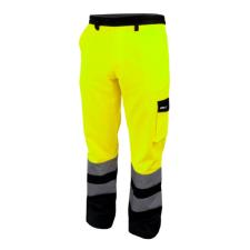 DEDRA BH81SP1-LD fényvisszaverős, nadrág méret ld, sárga munkaruha