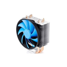 Deepcool CPU Cooler - GAMMAXX 300 (17,8-21dB; max. 94,29 m3/h; 4pin csatlakozó; 3 db heatpipe, 12cm, PWM) hűtés