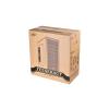 Deepcool Számítógépház - TESSERACT SW WHITE (fehér, ablakos, fekete belső, 2x12cm, ATX, mATX, 1xUSB3.0, 1xUSB2.0)