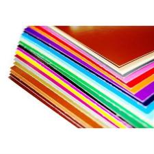 . Dekorkarton, 2 oldalas, 48x68, középkék kreatív és készségfejlesztő
