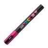 Dekormarker UNI POSCA PC-3M 0.9-1.3 mm, kúpos, FUKSZIA