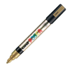 Dekormarker UNI POSCA PC-5M 1.8-2.5 mm, kúpos, ARANY