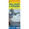 Dél-Chile és Patagonia térkép - ITM