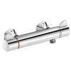 Delabie SECURITHERM Securitouch termosztatikus zuhanycsaptelep forrázásgátlós keverővel, fali