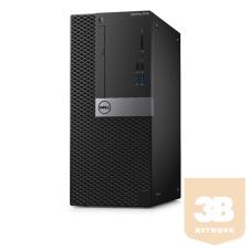 Dell DELL PC Optiplex 5050 MT, Intel Core i5-7500 (3.40GHz), 8GB, 1TB HDD, Win 10 Pro asztali számítógép
