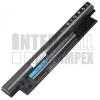 Dell Inspiron 15 3542 4400 mAh 6 cella fekete notebook/laptop akku/akkumulátor utángyártott