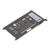 Dell Latitude 3480 laptop akkumulátor, gyári új, 3 cellás (3500mAh)