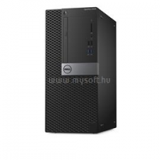 Dell Optiplex 5050 Mini Tower | Core i5-7500 3,4|32GB|1000GB SSD|4000GB HDD|Intel HD 630|W10P|3év (N040O5050MT02_WIN1P_32GBS1000SSDH4TB_S) asztali számítógép