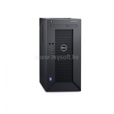 Dell PowerEdge Mini T30 | Xeon E3-1225v5 3,3 | 32GB | 1x 500GB SSD | 2x 4000GB HDD | nincs | 3év (PET30_235934_32GBS500SSDH2X4TB_S) szerver