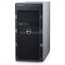 Dell PowerEdge T130 Tower H330 | Xeon E3-1230v5 3,4 | 4GB | 1x 120GB SSD | 2x 4000GB HDD | nincs | 5év (PET130_237886_4GBS120SSDH2X4TB_S) szerver