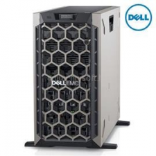 Dell PowerEdge T440 Tower H730P+ 1x 4208 2x 495W iDRAC9 Enterprise 8x 3,5   Intel Xeon Silver-4208 2,1   32GB DDR4_RDIMM   2x 250GB SSD   1x 4000GB HDD szerver