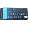Dell Precision M4800 4400 mAh 6 cella fekete notebook/laptop akku/akkumulátor utángyártott