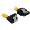 DELOCK 82479 50cm sárga sata kábel