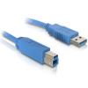 DELOCK 82580 1m usb 3.0 a-b kábel