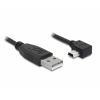 DELOCK 82680 usb 2.0 - usb mini-b 0,5m kábel