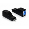 DELOCK Adapter micro USB 3.0-B male   USB 3.0-B female
