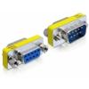 DELOCK Adapter Sub-D9 pin male / female