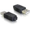 DELOCK adapter USB micro 2.0 A+B (F) - USB Type A 2.0 (M)