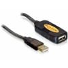 DELOCK aktív USB 2.0 hosszabbító 5 m.