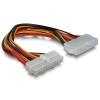 DELOCK ATX 24pin M/F tápkábel 0.3m hosszabbító