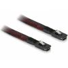 DELOCK Cable mini SAS 36pin male-male (SFF 8087) 1m (83073)