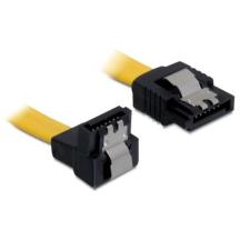 DELOCK Cable SATA 6 Gb/s down/straight metal 70cm kábel és adapter