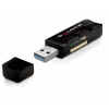 DELOCK CARD READER DELOCK USB 3.0 40in1 3 slot (91718)