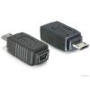 DELOCK Delock 65063 USB microB apa - mini USB 5pin anya adapter
