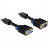 DELOCK Extension cable SVGA 5m male-female (82566