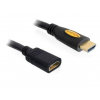 DELOCK kábel  High Speed HDMI Ethernettel  M/F  3m