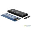 DELOCK M.2 NGFF külső SSD ház /42570/