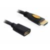 DELOCK magas sebességű HDMI hosszabbító kábel Ethernettel A apa / anya 3 m