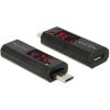 DELOCK Micro USB-adapter LED-kijelzovel a feszültség és áramerosség jelzésére