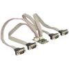 DELOCK mini PCI-E x1 4 portos soros port IO vezérlő